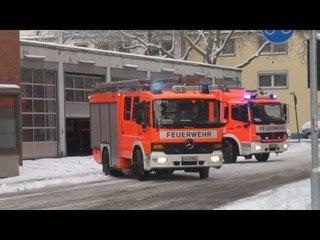 VLF + HLF 20/12 BF Köln FW 1 Innenstadt
