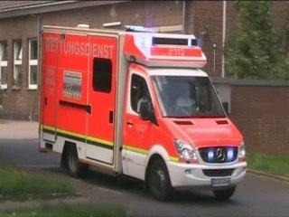 Rettungsdienst BF Düsseldorf FW 7 Wersten
