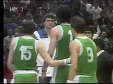 Sabonis knocks Mihovil Nakic out 1986 (by Sole Records)