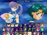 Athena Goddess  Vs Sailor Mercury Mugen