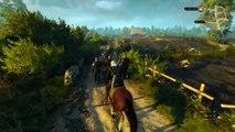 The Witcher 3 - Vidéo de gameplay sur PS4