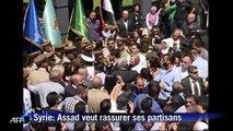 Assad: perdre une bataille ne signifie pas perdre la guerre