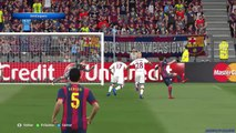 Barcelona vs Bayern München - Highlights - UEFA Champions League - PES 15 - Round of May 6