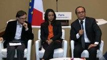 Table ronde avec huit jeunes Français au Conseil économique, social et environnemental (CESE)