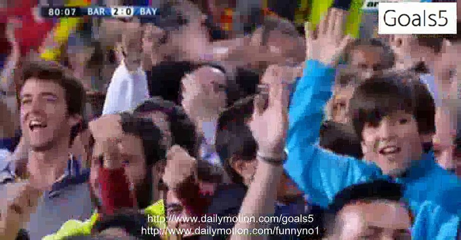 Lionel Messi 2 nd Goal Barcelona 2 - 0 Bayern Champions League 6-5-2015
