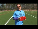 Freestyle Frisbee Stretches, Backhand & Forehand Throws : Freestyle Frisbee Chair Throw