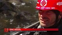 Le saut de cascade en kayak, un sport en vogue