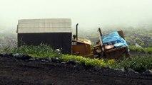 [#077] 富士登山 #3 吉田ルート ブルドーザー [ Mt.Fuji(Fujiyama) #3 Yoshida Trail  bulldozer ]