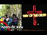 Bandila: Typhoon threat doesn't deter Boracay tourists; Boats feature Stations of the Cross