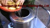 Potato Washing and Peeling Machine, Vegetables Peeler, Food Washer