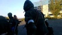 Архив. Зона АТО боевики ДНР штурмуют аэропорт. Донецк моторола киборги всу вдв