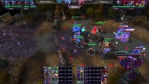 Heroes of the Storm (Pro Gameplay) - Alternate vs. Team Fancy (Haunted Mines)