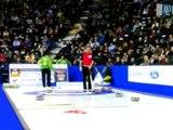 2009 Tim Hortons Brier - Glenn Howard Ricochet Double (ONT vs. SASK)