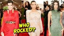 Kim Kardashian, Kendall Jenner, Kris Jenner   Which Kardashian ROCKED the MET Gala 2015?