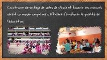 Bâtir des écoles...Bâtir l'Afrique...