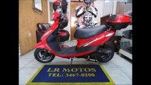 LR Motos - Revisão de Moto - Scooter Bull 50 cc Vermelha Sem Placa