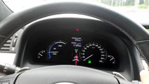 Lexus LS600h 5.0 V8 445 PS 0-100 kph 0-62 mph acceleration in normal mode
