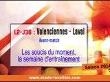 (J36) Valenciennes - Laval, le point presse avec D. Zanko