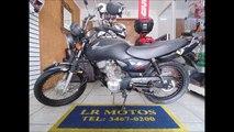 LR Motos - Revisão de Moto - Honda CG 125 Preta - 0361