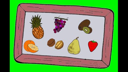 J'apprends le nom des fruits (1/2)