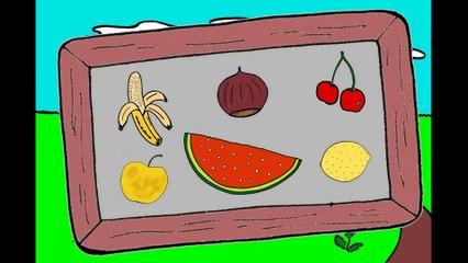 J'apprends le nom des fruits (2/2)