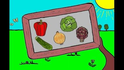 J'apprends le nom des légumes (2/2)