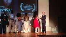 Festival Panafricain, remise du grand prix par le Consul du Burkina Faso