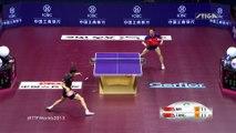 Tennis de table : le point de l'année (MA Long vs. Fang Bo - Qoros 2015 World Table Tennis Championships. )