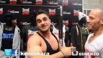 FIBO 2015 Flying Uwe vs. Kenzo Karagöz How to do Muscleups Tutorial   Challange KENZO KARA