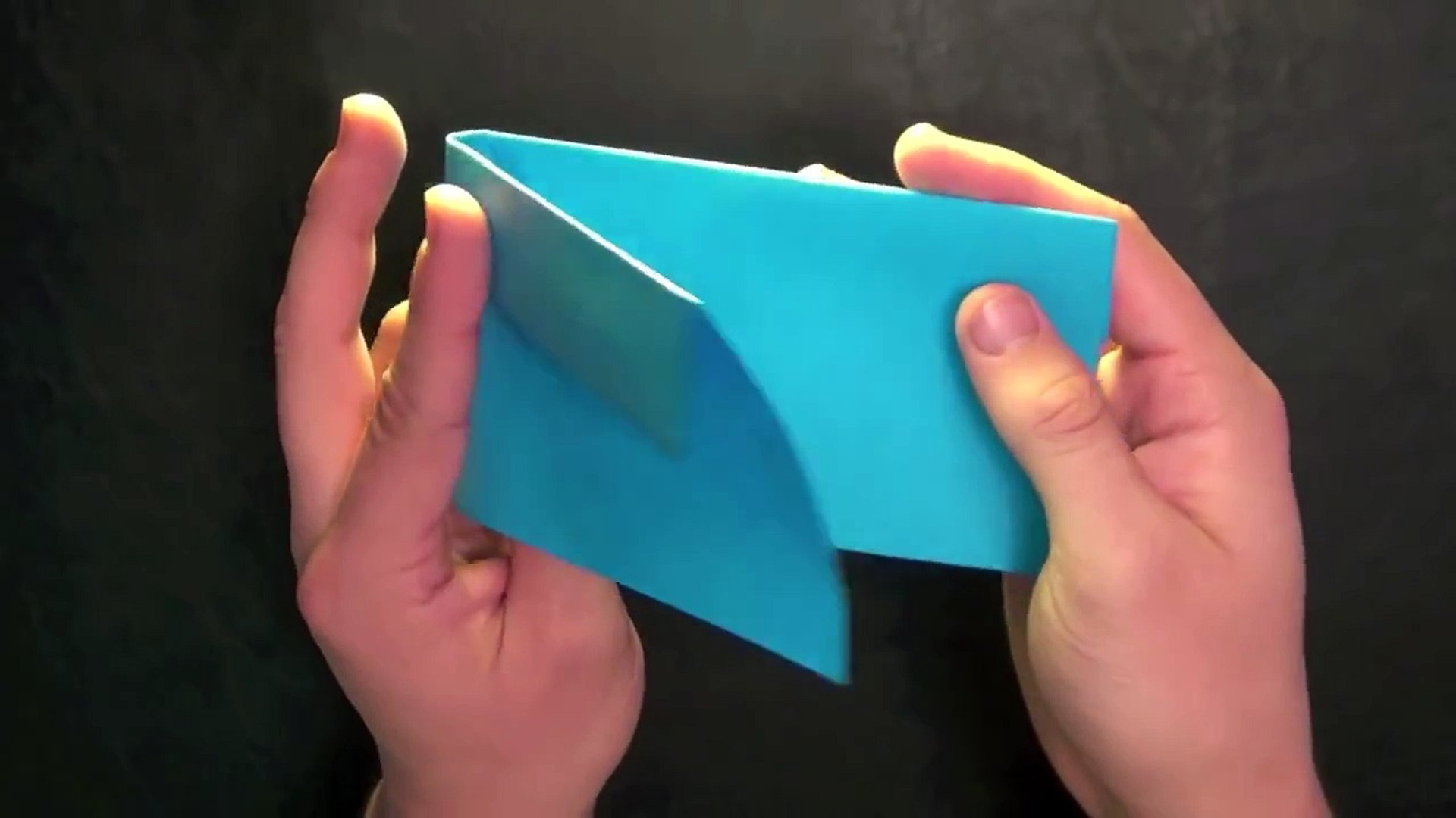How To Make an Easy Paper Popper - Origami - YouTube | 1080x1920