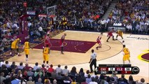 LeBron James Dunk Over Jimmy Butler _ Bulls vs Cavaliers _ Game 2 _ May 6, 2015 _ NBA Playoffs