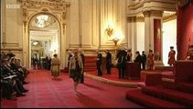 Meera Syal receives her MBE and Dr Mohinder Singh receives his OBE