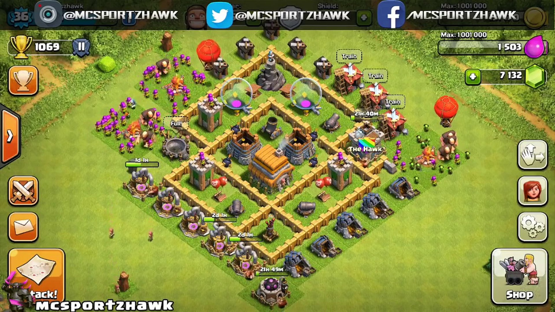 Clash of Clans - BEST DEFENSE STRATEGY - Townhall Level 5 (CoC TH5 Defense  Strategies)