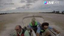 Collision évitée de justesse entre un avion et un bateau