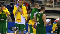 Lithuania 76:73 Spain (Burning Baltic Hearts) [HD] rus