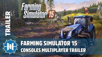 Farming Simulator 15 - Consoles Multiplayer Trailer