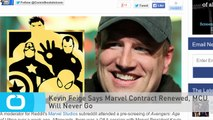 Kevin Feige Says Marvel Contract Renewed, MCU Will Never Go
