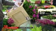 Le marché des fleurs mis à mal par les contrefaçons