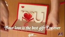 How To Make A  I love U Pop Up Card, Valentine's Day Pop-up Card Tutorial