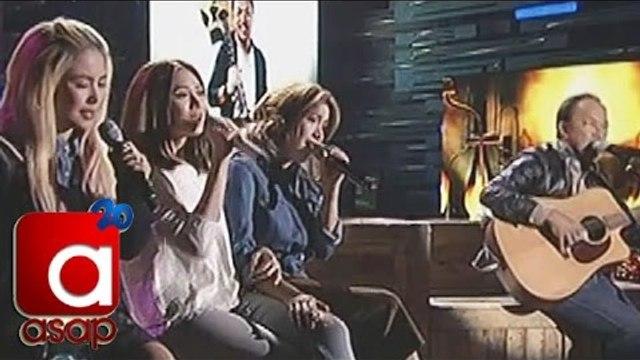 Yeng, Sarah, Angeline sing 'Nakapagtataka' with Noel Cabangon on ASAP