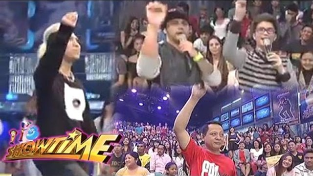 Madlang people does majorette with Vice, Billy at Vhong