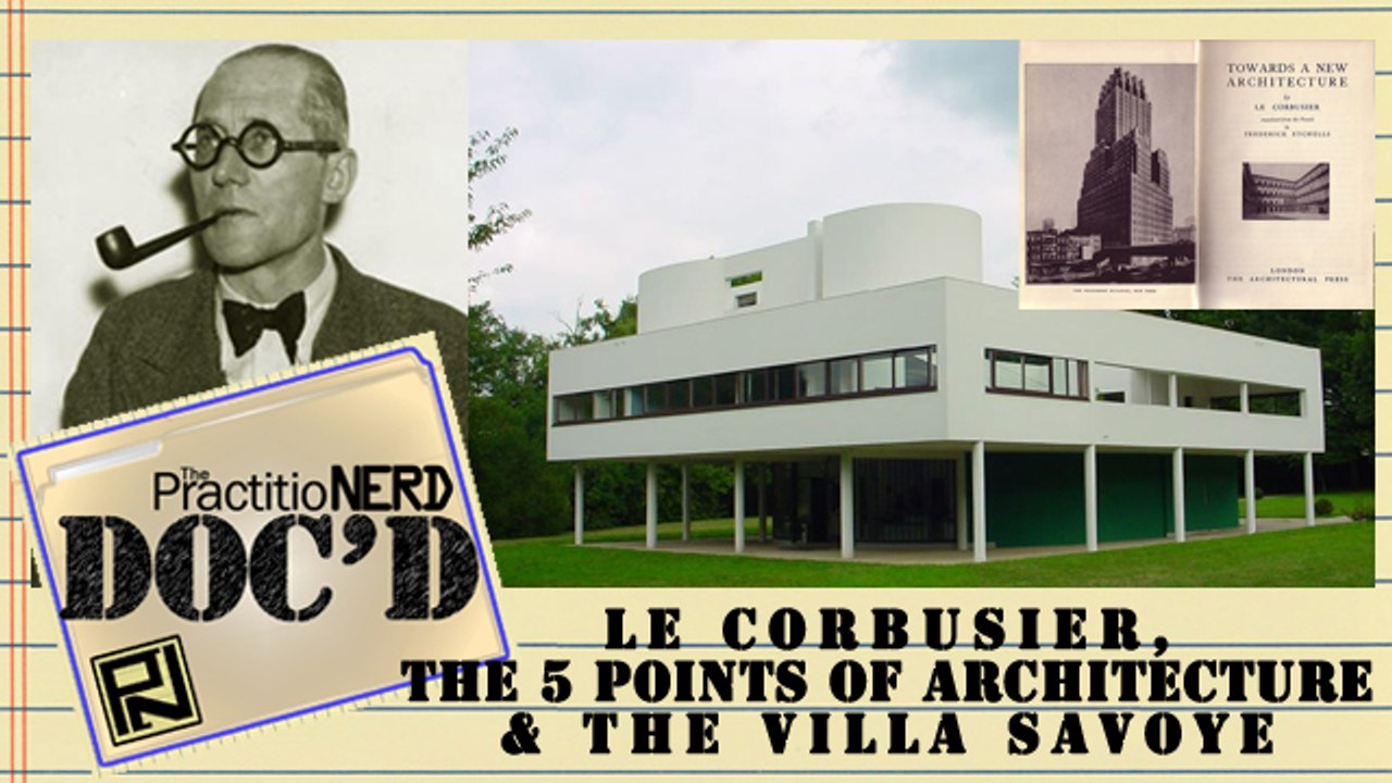 Le Corbusier Les 5 Points le corbusier's 5 points & villa savoye - doc'd #21