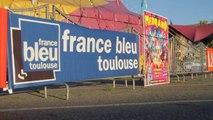 France Bleu Toulouse au cirque Médrano