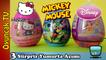 Sürpriz Yumurtalar Disney Princess, Hello Kitty, Mickey Mouse Sürpriz Yumurta Oyuncakları