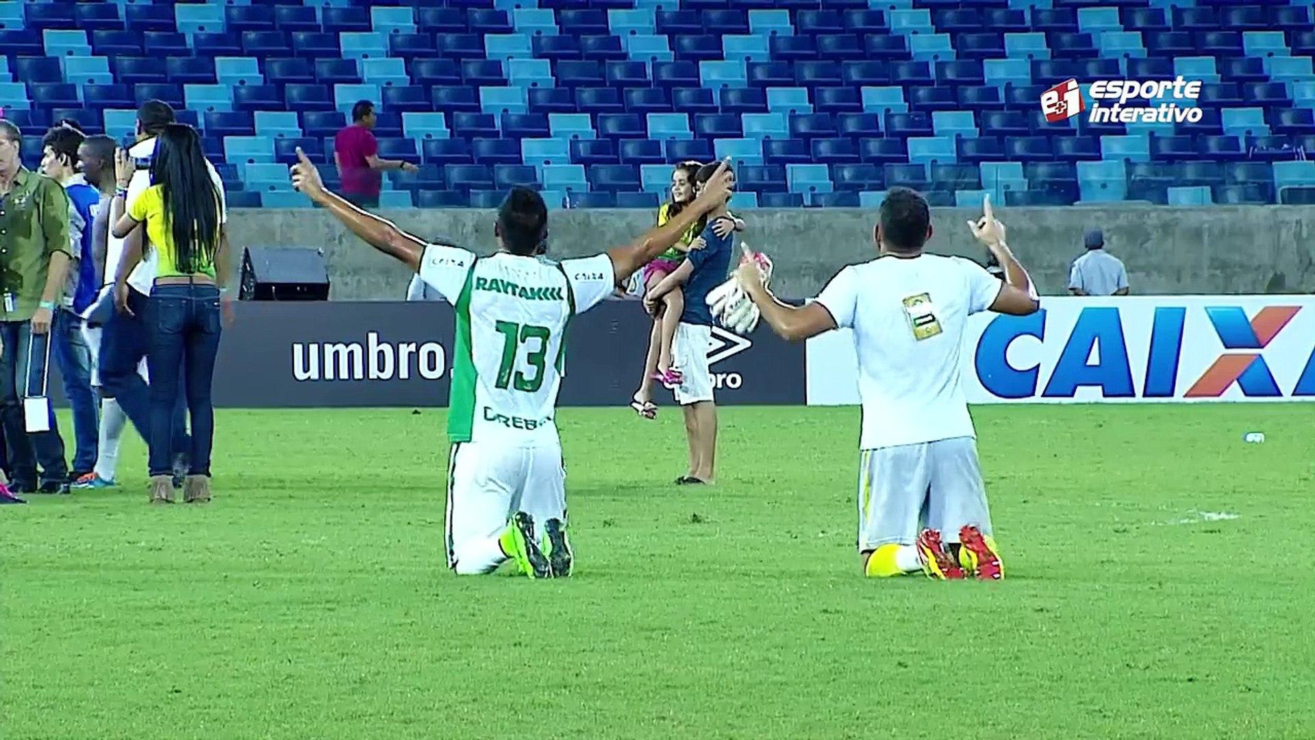 De joelhos, jogadores do Cuiabá pagam promessa pela conquista heroica da Copa Verde!