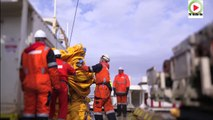 #Quiberon - Pose du cable sous-marin ERDF Quiberon Belle-ile  - TV Belle-ile en mer 24/7