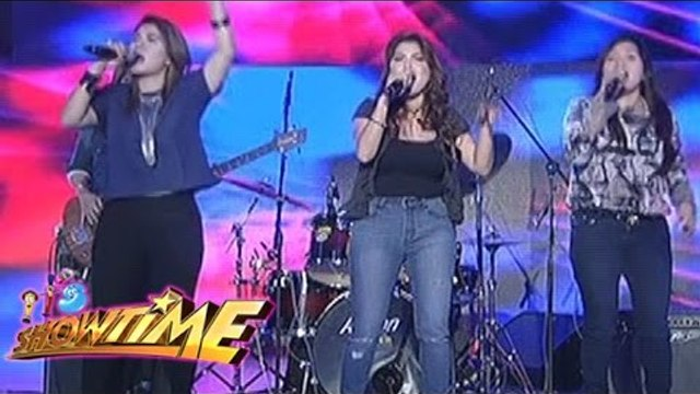 Aegis band perform their hits on It's Showtime
