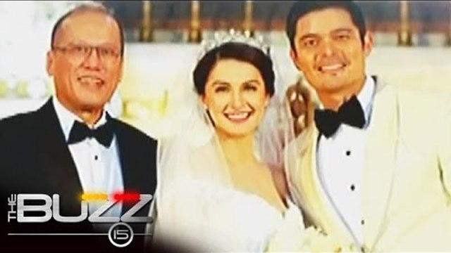Wedding of Dingdong, Marian attended by famous personalities