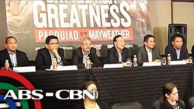 ABS-CBN, GMA 7, TV5 to air Pacquiao-Mayweather mega-fight