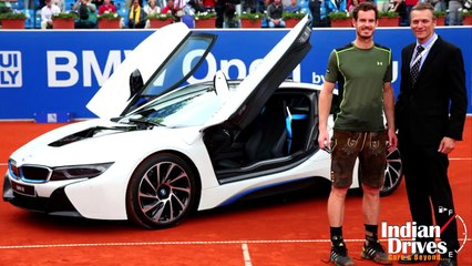 Andy Murray Gets i8 And EUR80,000 After Winning BMW Munich Open 2015